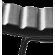 A3 barová stolička, kožený sedák_detail