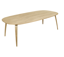 GUBI dinning table ellipse oak