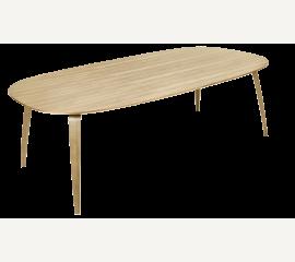 GUBI jídelní stůl elipsovitý dub