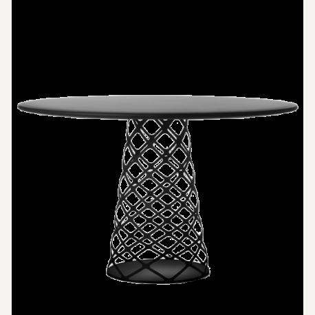 Aoyama jídelní stůl kruhový, laminátová deska