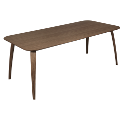 GUBI dinning table rectangular walnut