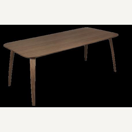 GUBI jídelní stůl obdélníkový vlašský ořech