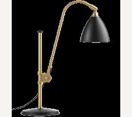 Stolní lampa Bestlite BL 1 mosazná s barevným stínítkem