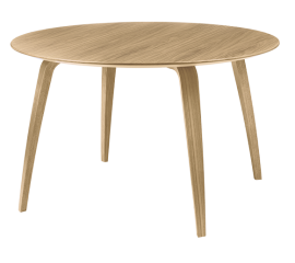 GUBI dinning table round oak
