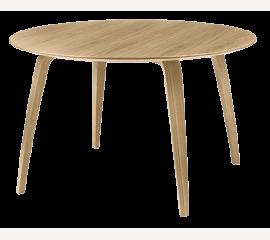 GUBI jídelní stůl kulatý dub