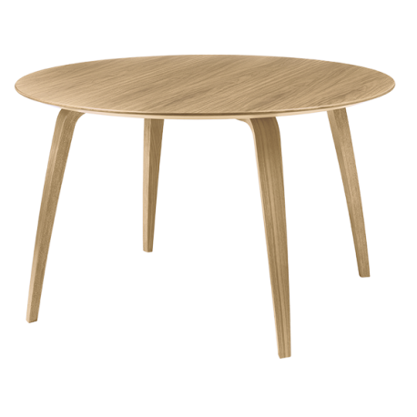 GUBI dinning table round oak