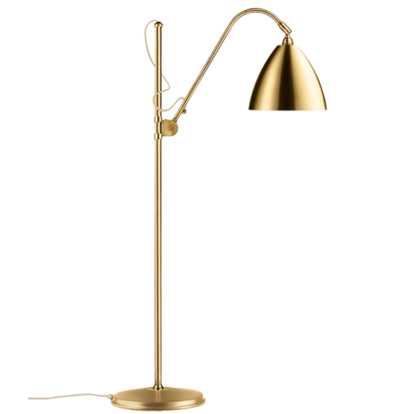 Bestlite BL3M Floor Lamp all brass
