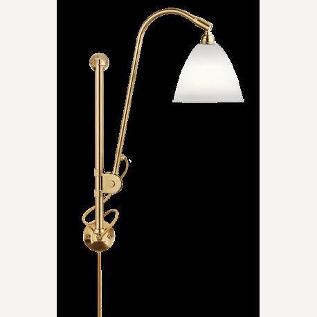 Bestlite BL5 nástěnná lampa mosazná