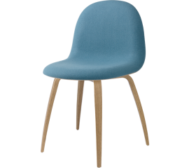 GUBI  3D front upholstered, wood base