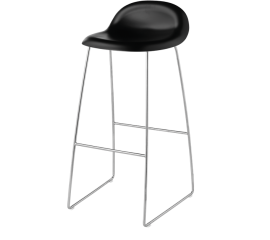 GUBI 3D stool chrome base