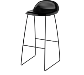 GUBI 3D stool black base