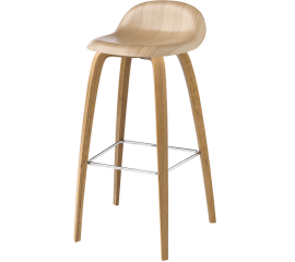 GUBI 3D wooden stool