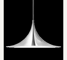 Semi  lampa chromová