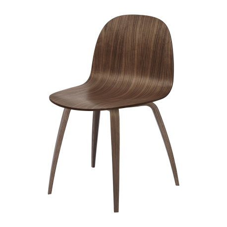 GUBI 2D wooden chair