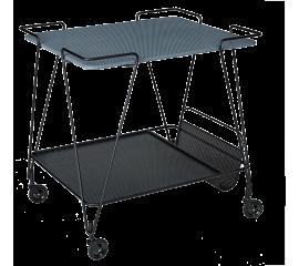 """Plechový sevírovací stolek  """"Matégot"""""""