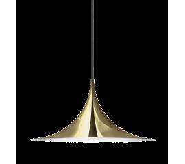 Semi pendant brass