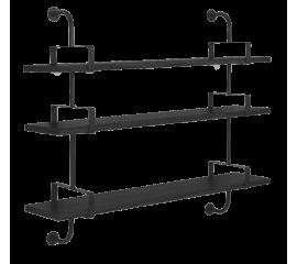 Matégot Demon 3  shelf, 155 cm