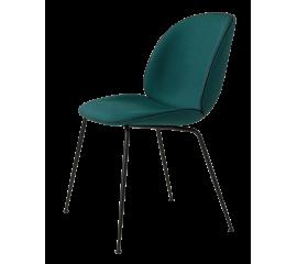 Beetle židle zelená, černá podnož