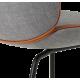 Beetle židle šedá Remix 133