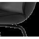 Beetle židle černá kůže