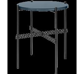 Kávový stolek se skleněnou deskou ∅ 40 cm