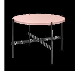 TS kávový stolek ∅ 55 cm skleněná deska