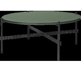 TS kávový stolek ∅ 80 cm skleněná deska