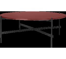 TS kávový stolek ∅ 105 cm skleněná deska